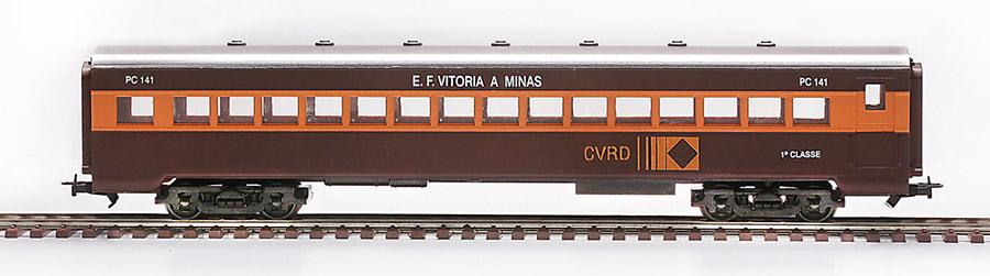 <h3><strong>2486 - Carro 1ª classe CVRD - EFVM</strong><br>2481 - Carro 1ª classe RFFSA (Belo Horizonte)</h3>